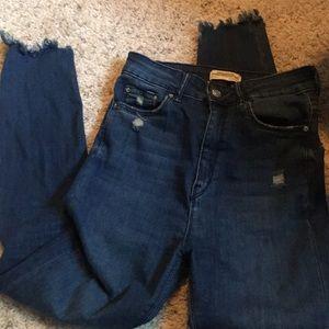 Zara Jeans - Zara High waisted jeans